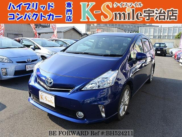 Used 2013 TOYOTA PRIUS ALPHA BH524211 for Sale