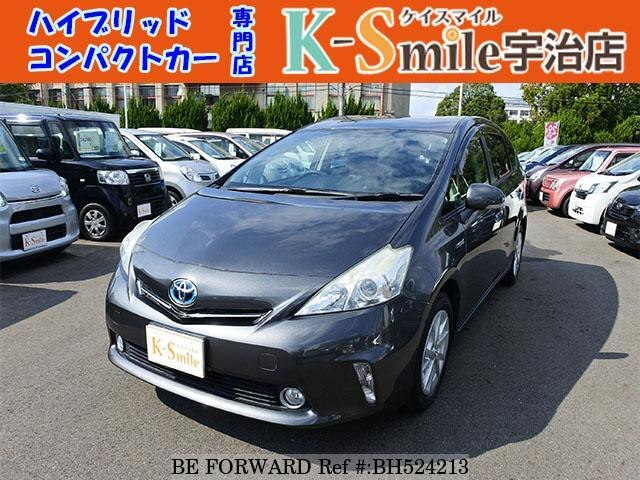 Used 2011 TOYOTA PRIUS ALPHA BH524213 for Sale