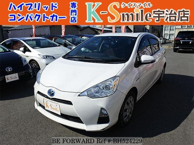 Used 2013 TOYOTA AQUA BH524229 for Sale