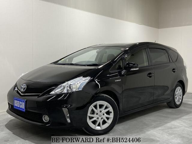 Used 2013 TOYOTA PRIUS ALPHA BH524406 for Sale