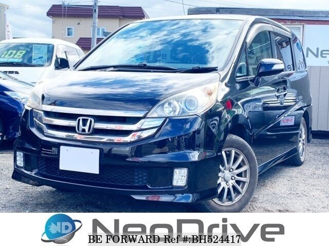Used 2007 HONDA STEP WGN BH524417 for Sale