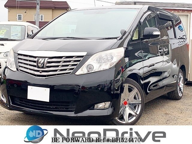 Used 2009 TOYOTA ALPHARD BH524470 for Sale