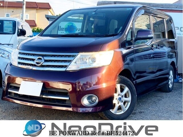 Used 2009 NISSAN SERENA BH524472 for Sale