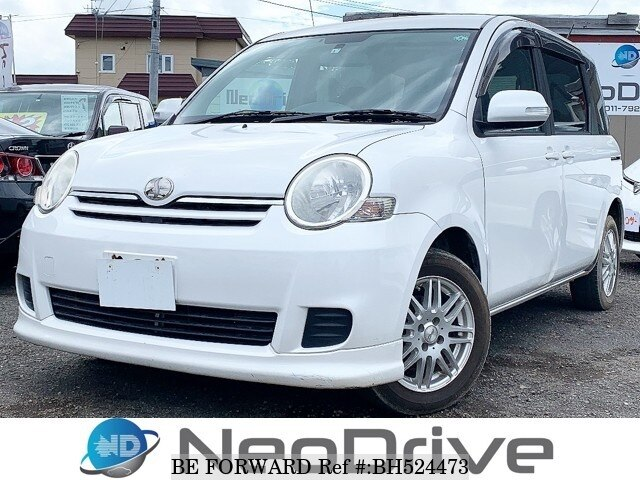 Used 2009 TOYOTA SIENTA BH524473 for Sale