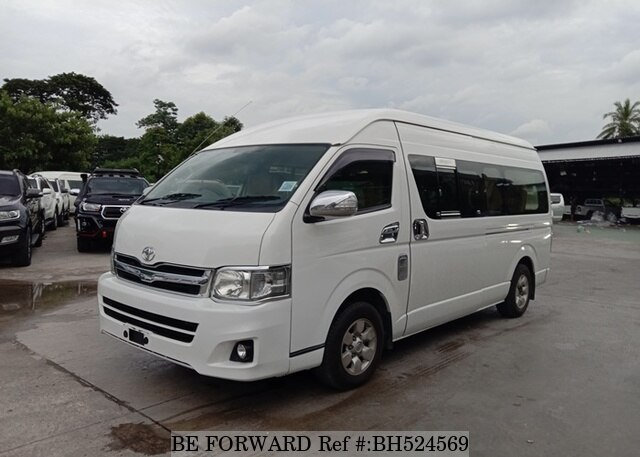 Used 2014 TOYOTA HIACE COMMUTER BH524569 for Sale