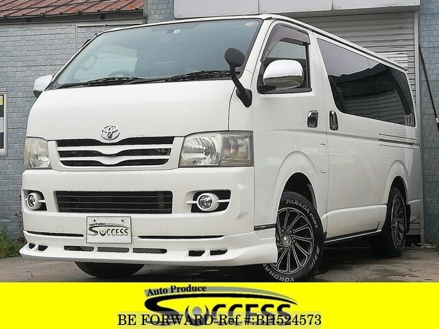 Used 2005 TOYOTA HIACE VAN BH524573 for Sale