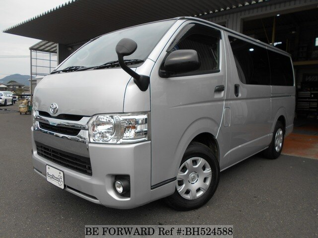 Used 2016 TOYOTA HIACE VAN BH524588 for Sale
