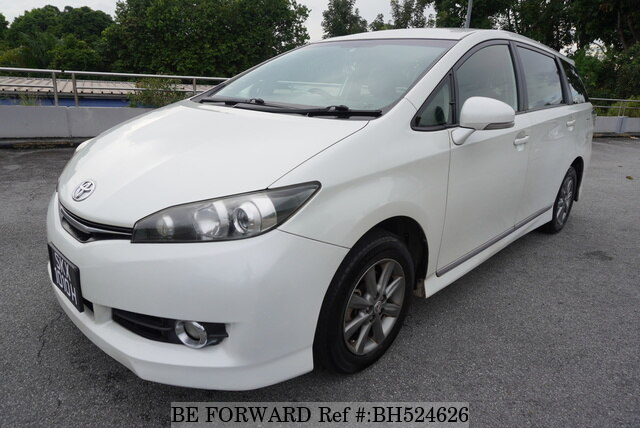 Used 2016 TOYOTA WISH BH524626 for Sale