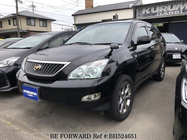 Used 2009 TOYOTA HARRIER BH524651 for Sale