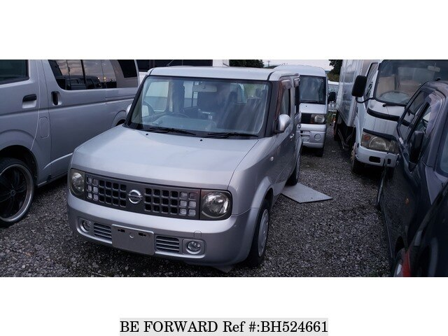 Used 2004 NISSAN CUBE BH524661 for Sale