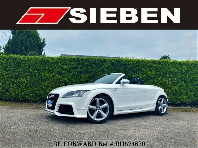 Used 2009 AUDI TT ROADSTER BH524670 for Sale