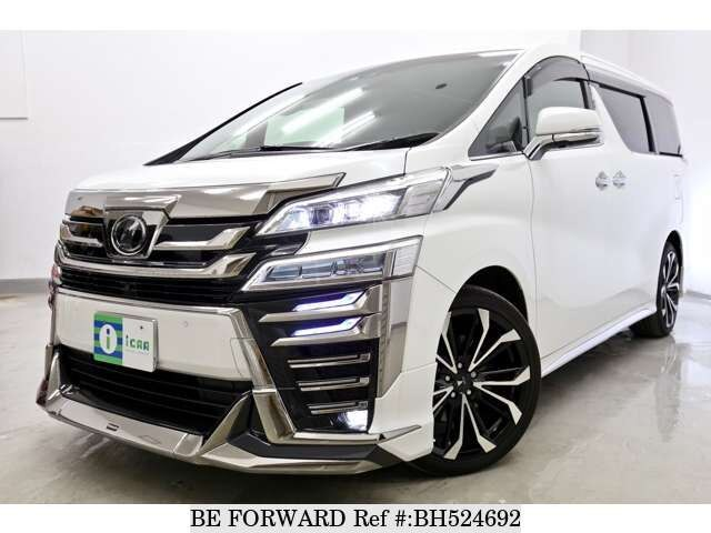 Used 2018 TOYOTA VELLFIRE BH524692 for Sale