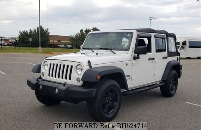 Used 2016 JEEP WRANGLER BH524714 for Sale