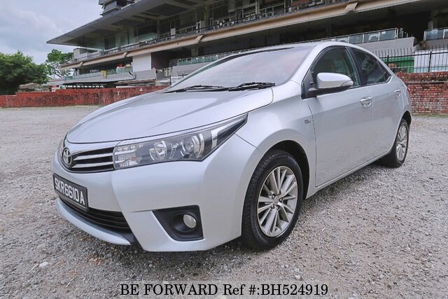Used 2015 TOYOTA COROLLA ALTIS BH524919 for Sale