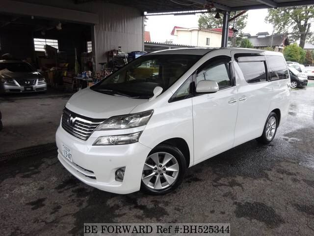 Used 2009 TOYOTA VELLFIRE BH525344 for Sale
