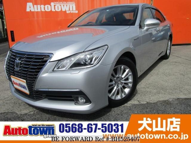 Used 2013 TOYOTA CROWN HYBRID BH525407 for Sale