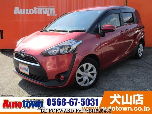 Used 2015 TOYOTA SIENTA BH525433 for Sale