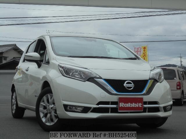 Used 2017 NISSAN NOTE BH525493 for Sale