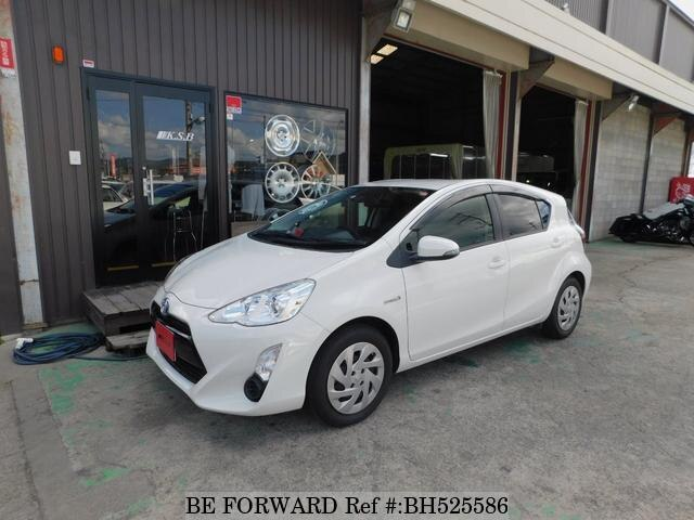 Used 2016 TOYOTA AQUA BH525586 for Sale