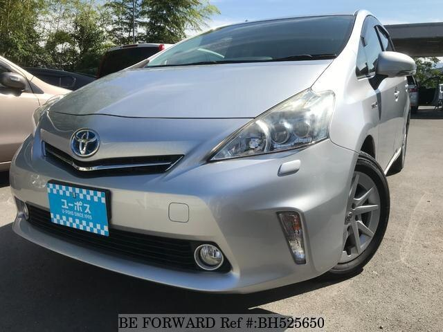 Used 2012 TOYOTA PRIUS ALPHA BH525650 for Sale