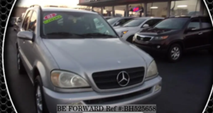 Used 2002 MERCEDES-BENZ M-CLASS BH525658 for Sale
