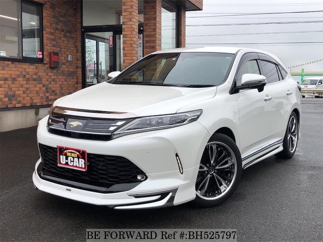 Used 2017 TOYOTA HARRIER BH525797 for Sale
