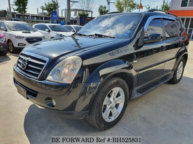 Used 2010 SSANGYONG REXTON BH525831 for Sale