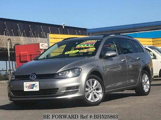 Used 2015 VOLKSWAGEN GOLF VARIANT BH525863 for Sale