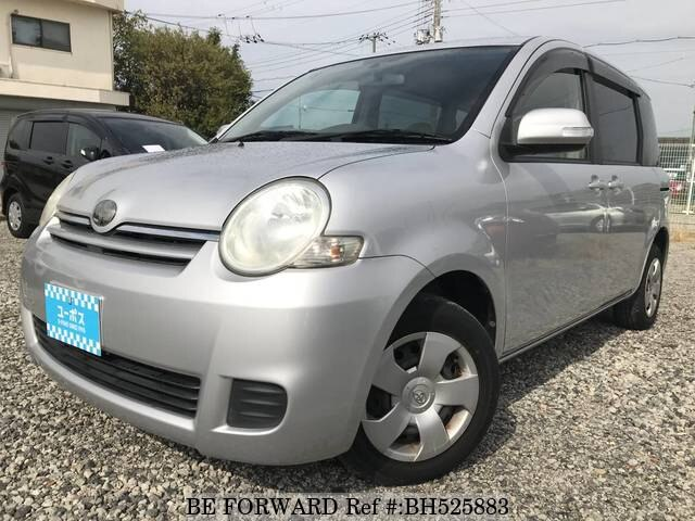 Used 2009 TOYOTA SIENTA BH525883 for Sale