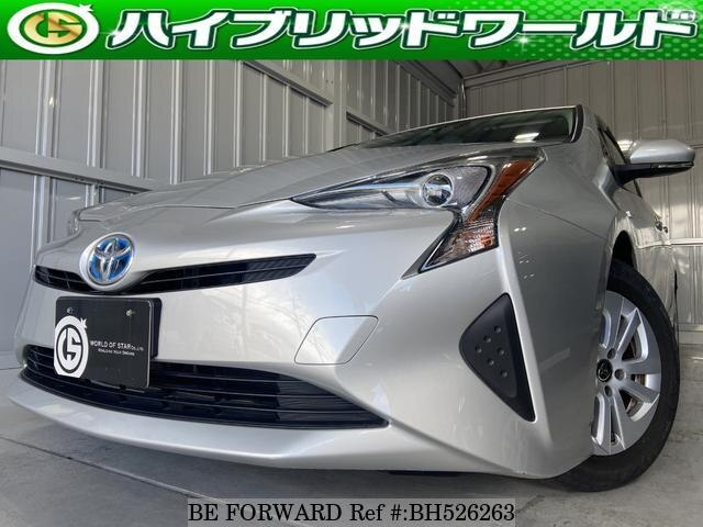 Used 2017 TOYOTA PRIUS BH526263 for Sale