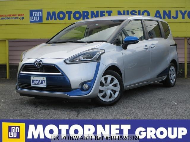 Used 2015 TOYOTA SIENTA BH526289 for Sale