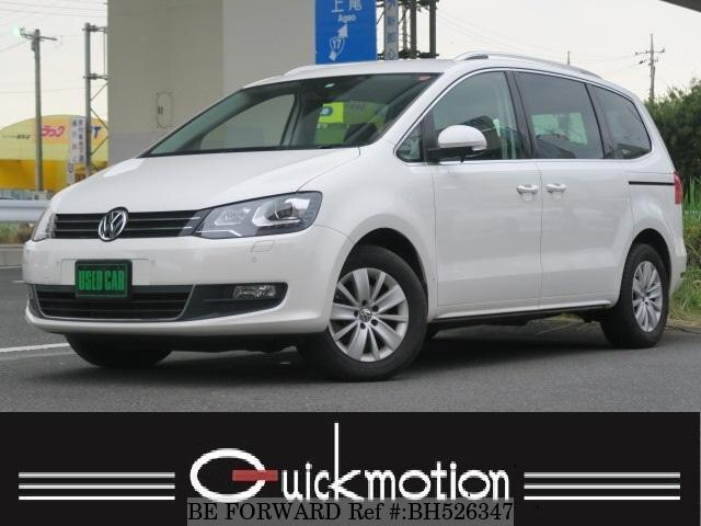 Used 2012 VOLKSWAGEN SHARAN BH526347 for Sale