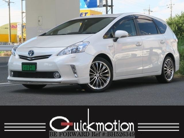 Used 2012 TOYOTA PRIUS ALPHA BH526349 for Sale