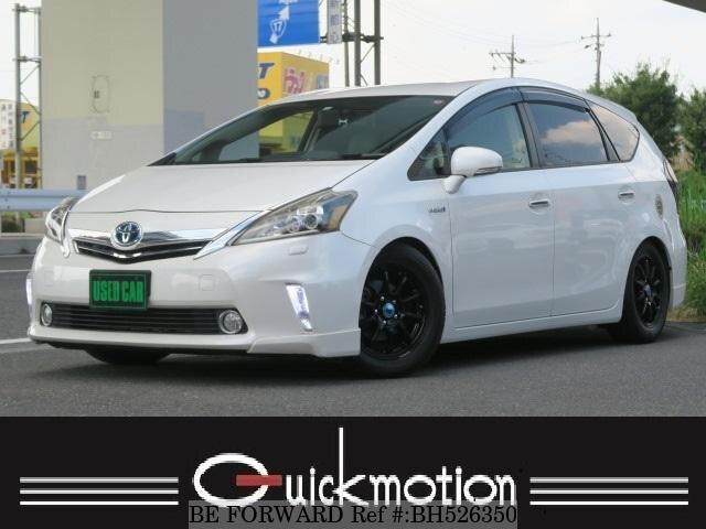 Used 2012 TOYOTA PRIUS ALPHA BH526350 for Sale