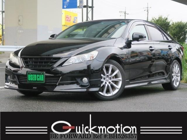 Used 2009 TOYOTA MARK X BH526357 for Sale