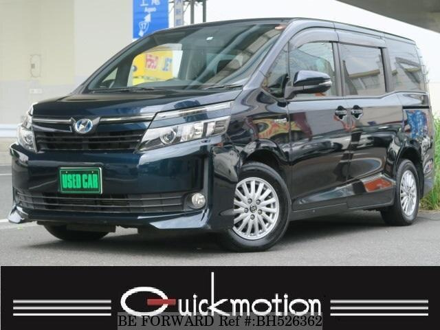 Used 2014 TOYOTA VOXY BH526362 for Sale