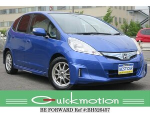 Used 2011 HONDA FIT HYBRID BH526457 for Sale