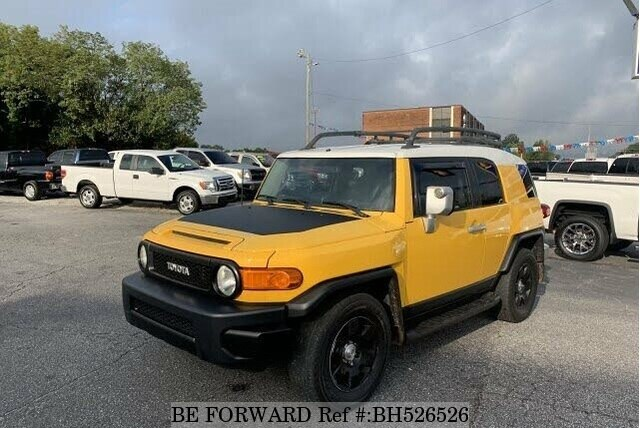 Used 2007 TOYOTA FJ CRUISER BH526526 for Sale