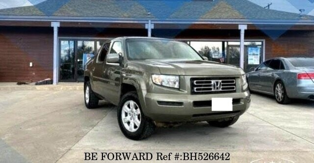 Used 2007 HONDA RIDGELINE BH526642 for Sale