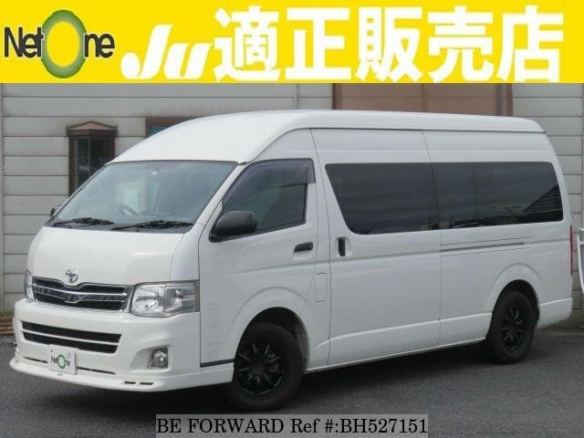 Used 2012 TOYOTA HIACE VAN BH527151 for Sale