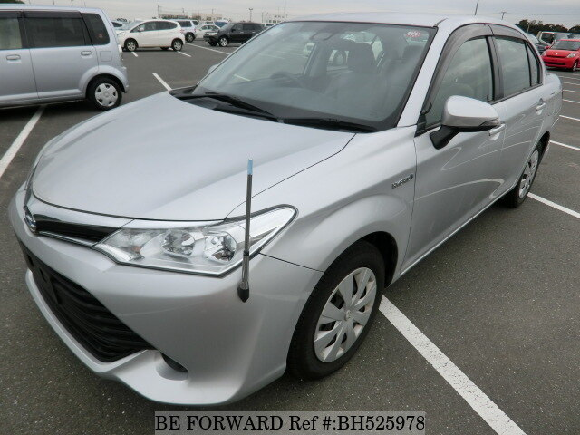Used 2015 TOYOTA COROLLA AXIO BH525978 for Sale