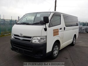 Used 2010 TOYOTA HIACE VAN BH526184 for Sale