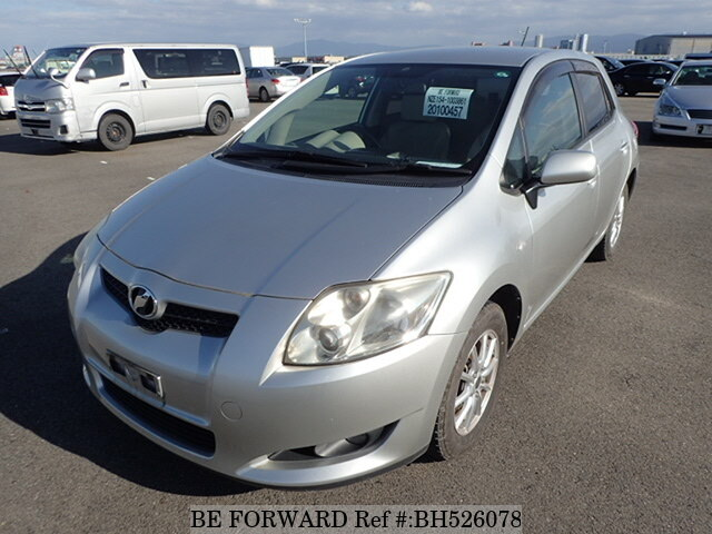 Used 2008 TOYOTA AURIS BH526078 for Sale
