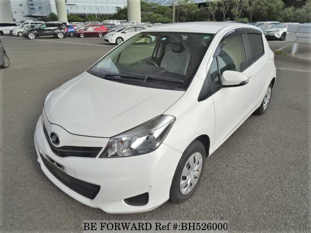 Used 2012 TOYOTA VITZ BH526000 for Sale