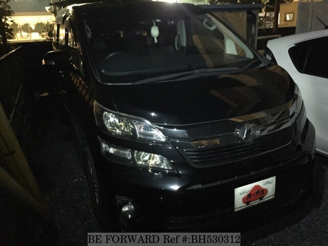 Used 2014 TOYOTA VELLFIRE BH530312 for Sale
