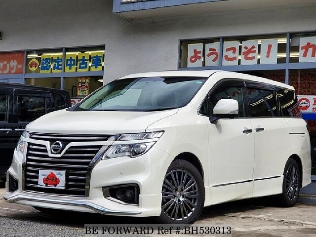 Used 2017 NISSAN ELGRAND BH530313 for Sale