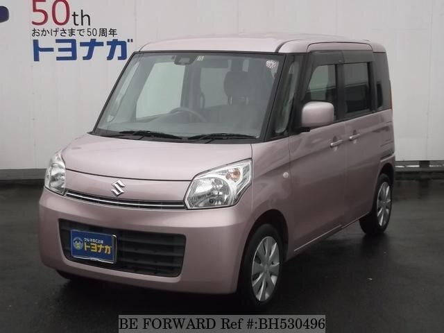 Used 2013 SUZUKI SPACIA BH530496 for Sale