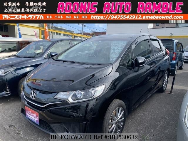 Used 2014 HONDA FIT BH530632 for Sale