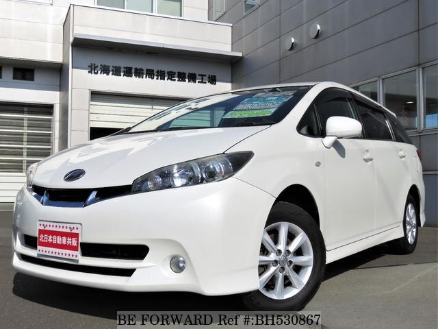 Used 2010 TOYOTA WISH BH530867 for Sale