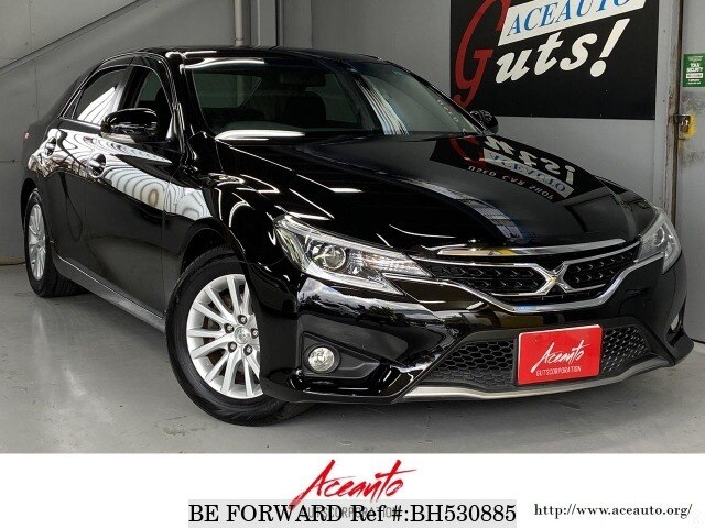 Used 2014 TOYOTA MARK X BH530885 for Sale